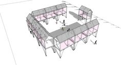 #Llatas #architectural #architect #architecture #design #mobile #pavilion #biau