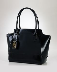 Lauren Ralph Lauren Tote - Dorian Leather Handbags - Totes - Bloomingdale s 739ddedaa5f2b