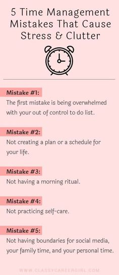 5 Time Management Mistakes That Cause Stress & Clutter – edekokin.site - 5 Time Management Mistakes That Cause Stress & Clutter – edekokin. Time Management Strategies, Time Management Skills, Time Management Quotes, Time Management Printable, Anger Management, Stress Management Activities, Importance Of Time Management, Writing Strategies, Home Management