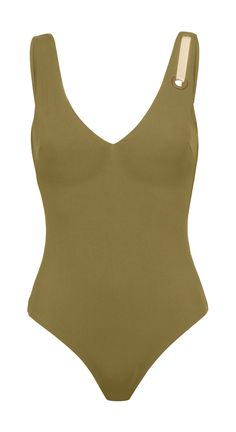Marilyn Low Back Swimsuit | Two Tone One Piece | Khaki | Réard Paris  https://www.reard.com/en-fr/products/marilyn-low-back-swimsuit?taxon_id=28
