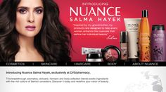 I saw Salma applying her products on some women on the Rachel Ray show.  The results were amazing.