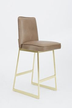 New Contemporary Leather Bar Stools