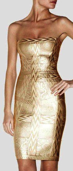 Cate Bandage Dress-