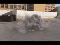 Maya 3D - Dynamic - Fluid Effect (Smoke) - Animated Map Emission - YouTube