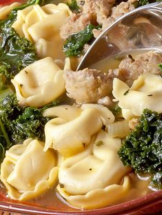 Sausage, Kale and Tortellini Soup Recipe