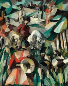 Albert Gleizes - La Chasse/The Hunt (1911)