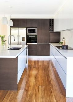 Timeless modern kitchen - Homes, Bathroom, Kitchen & Outdoor | Home Beautiful Magazine Australia