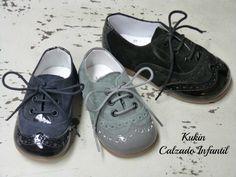 zapatos niño - blucher Landos fabricados en España. Comprar zapatos niño online Zapatería Kukin