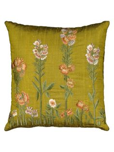 Embroidery Pillow by Nourison at Gilt