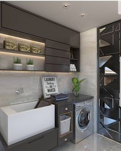[New] The Best Home Decor (with Pictures) These are the 10 best home decor today. According to home decor experts, the 10 all-time best home decor. Pantry Laundry Room, Laundry Room Cabinets, Laundry Room Storage, Laundry Room Design, Shop Interior Design, Interior Design Living Room, Living Room Designs, Modern Laundry Rooms, Latest House Designs