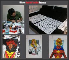 Trabalho - Marvel - Marvel Women II - Gabriel Tardivo