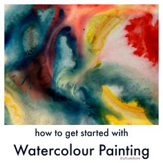 how to use watercolor paints kids