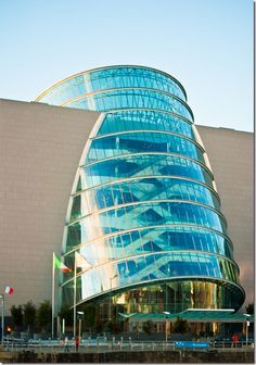 The new Dublin Convention Centre/Kevin Roche