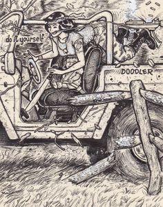 David Jablow. 'do it yourself, Doodler' project