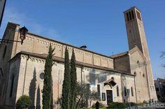 Church San Francesco with the tomb of Dante's son and Francesco Petrarch - Treviso, Italy. ©ZAINOO