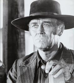 Portrait of Henry Fonda for Once Upon a Time in the West directed by Sergio Leone, 1968