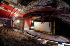 Abandoned cinemas and theaters, check out the gallery for more.