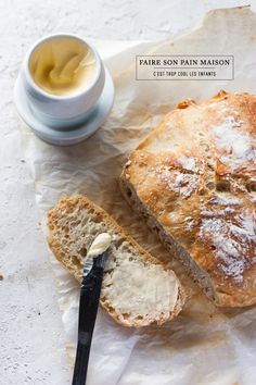 No-knead bread #homemade #bread | christelle is flabbergasting