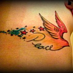 Bird of peace tattoo ... Simplistic tattoo