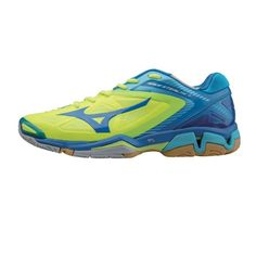 f14c709db512 Mizuno wave stealth 3 indoor volleyball shoe yellow blue men s shoes sports    outdoor squash