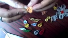 paper quilling projects - YouTube