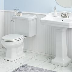 The Essex Pedestal Sink Boasts A Traditional, Classic Design. Http://www
