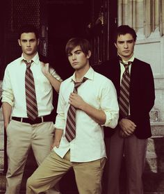 ... A. Gossip Girl is just great. B. Chace Crawford as Nate? Well, Nate is obviously the best.