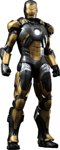 iron man toy 2014 black and gold