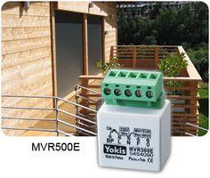 MVR500E : Micromodule volets roulants Encastrable 500W - YOKIS