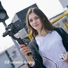 3D Smart Bluetooth Handheld Smooth Gimbal【Last day 50% OFF】 – Funkygears Clever Gadgets, Cool Gadgets To Buy, Techno Gadgets, Gadgets And Gizmos, Woods Photography, Background For Photography, New Operating System, Electronics Basics, Press The Button