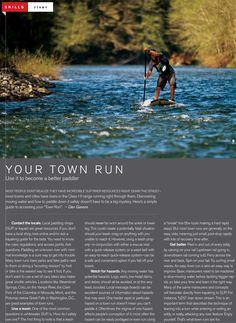 Skills: Your Town Run | SUP Magazine