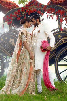 Elan Fall Winter The Jasmine Court Dresses Collection Elan Bridal Wear Winter Bridal Wear 2015 India Wedding, Desi Wedding, Punjabi Wedding, Pakistani Bridal, Indian Bridal, Indian Wedding Couple, Pakistani Couture, Wedding White, Wedding Vows