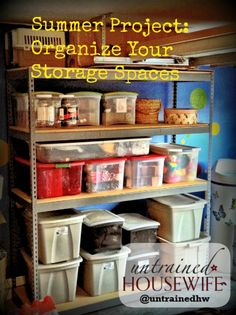 Storage Organization Tips and Tricks