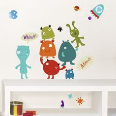 Monsters Wall Decal at AllPosters.com