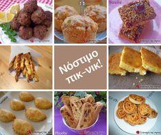 Νοστιμιές για να πάρουμε μαζί μας στο πικ-νικ της πρωτομαγιάς! #cookpad_greece Diy Crafts Videos, Muffin, Appetizers, Breakfast, Party, Recipes, Food, Garden, Kids