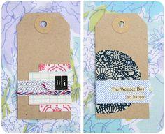 Envelope tape - tags