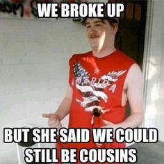 funny cousin @ facebook.com/maryjaneshq