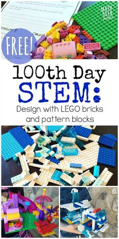 Day of School STEM Activities for {FREE!} - - Have fun with math! This set of day of school STEM activities is a great way to encourage creativity and problem solving with 2 different challenges. Lego Activities, Educational Activities For Kids, Steam Activities, Math Resources, School Holiday Activities, Movement Activities, School Resources, Physical Activities, Stem Projects