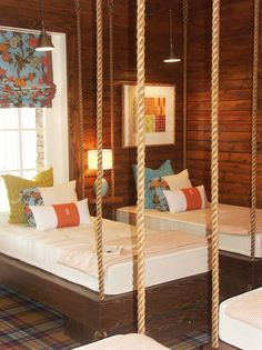 Beautiful Hanging Beds for Kids