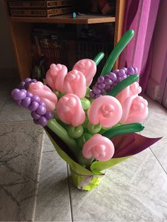 Pictures Of Birthday Balloons and Flowers . Pictures Of Birthday Balloons and Flowers . Balloon Flowers, Balloon Bouquet, Balloon Arch, Paper Flowers, Balloon Toys, Balloon Crafts, Balloon Animals, Paw Patrol Party Decorations, Birthday Balloon Decorations