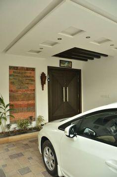 Car Porch Wall Design Pakistan Google Search Ceiling Design