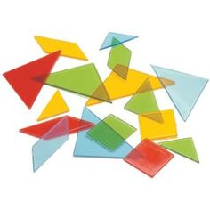 Light table activities. Amazon.com: Learning Advantage Ctu7711 Overhead Tangrams: