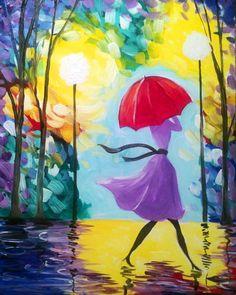Pinot's Palette Estero - 11/15 7:00 pm Under My Umbrella