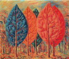 The Fire, René Magritte, 1943