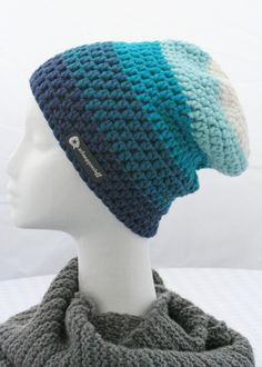 Ombre Slouch hat ~ Inspiration only
