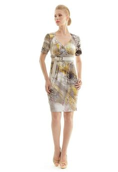 Faux Crossover Dress