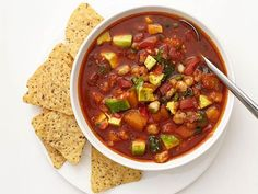 Get Butternut Squash Posole Recipe from Food Network