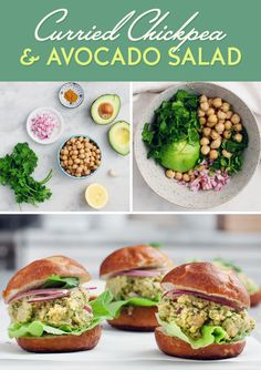 Curried Chickpea and Avocado Salad | Here's What You Should Eat For Dinner This Week
