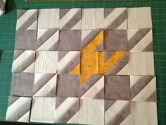 Fun houndstooth pattern tutorial (I especially like the random colored portions) by Colleen of The Busy Bean.