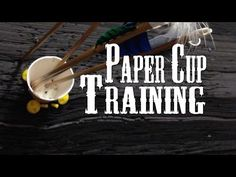 Instinctive Archery: Paper cup Training - YouTube